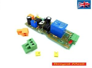 Details about NE555 Timer Relay Switch 1-300 second input DC 5-12v TIME  OVER RESET Delay relay