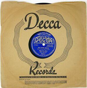 SHELTON-BROS-Deep-Elem-Blues-No-3-Go-039-Long-Mule-1937-COUNTRY-NM-LISTEN