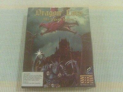 "Dragon Lore ""The Legend Begins"" Rare Big Box cdrom pc adventure game"