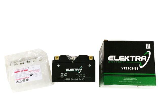 Batería Elektra YTZ10S-BS=YTZ10-S=TTZ10S Honda CB F Hornet ABS 600 2009