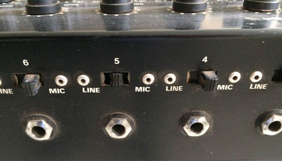 Mixer 12 kanals, MM 12 kanal MP 175