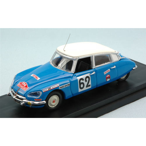 CITROEN DS 21 N.62 ACCIDENT MONTE CARLO 1970 SALOMON-SAINTIGNY 1:43 Rio
