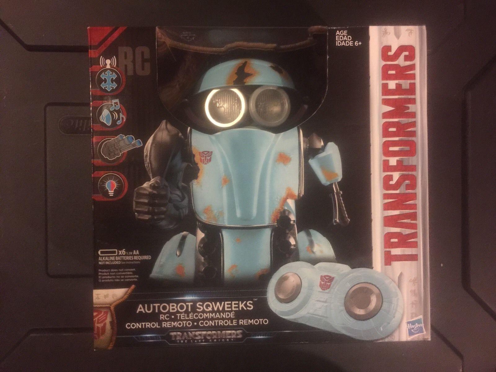 Neue versiegelt transformatoren der letzte ritter autobot - sqweeks rc ferngesteuerte roboter