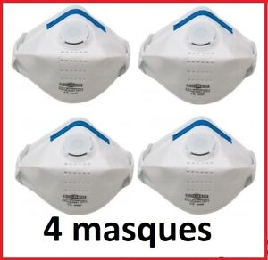 4 x MASQUES -  Protection  //  Valve active