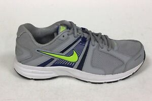 c5ae2e4a7e6f Nike Men s DART 10 NEW AUTHENTIC Wolf Grey Volt Blue White 580524 ...