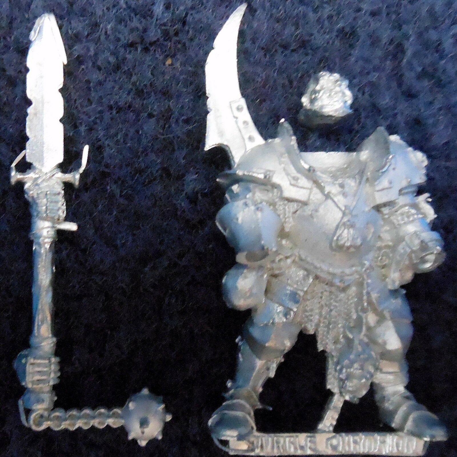 2002 Chaos Champion of Nurgle Citadel Warhammer Army Hordes Evil Fighter Lord GW