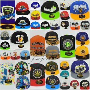 Time-Is-Money-Snapback-Caps-Plat-Peaks-Hip-HOP-Ajustee-Baseball-Chapeaux-Unisexe