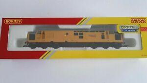 Hornby R3289TTS Class 37 Network Rail Yellow DCC Sound Diesel Loco OO Gauge