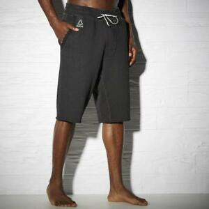 Men-039-s-Reebok-MMA-Combat-The-Noble-Fight-Washed-Shorts-AP6739