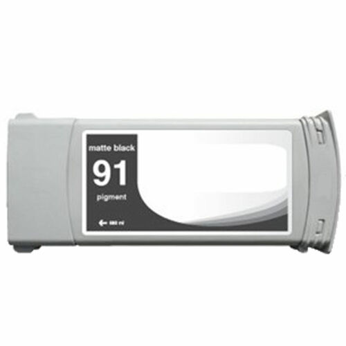 Matte Black Z6100 Z6100ps HP 91 Remanufactured Ink Cartridge for HP C9464A
