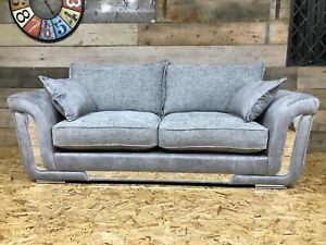 Ashley-Manor-3str-sofa-silver-grey-fabric-velvet-chenille-leather-chrome-retro