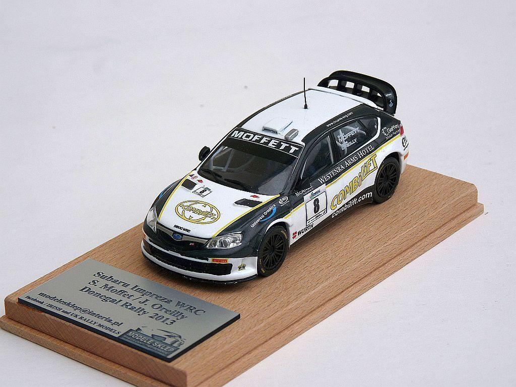 Sam Moffett SUBARU IMPREZA WRC DONEGAL Rally 2013 code 3 IRISH RALLYE collection