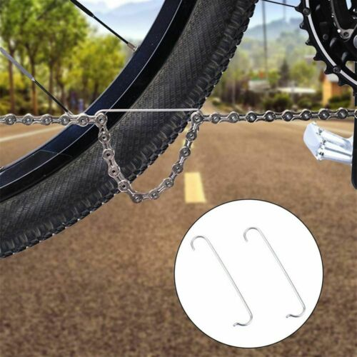 Bicycle Chain Hooks Stainless Steel Bicycle  Mountain Bike Chain Connecting  TOP