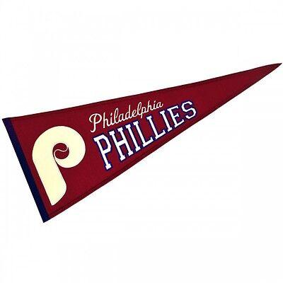 Weitere Ballsportarten 100% Wahr Mlb Baseball Philadelphia Phillies Banner Großer Wimpel Pennant Heritage Wolle