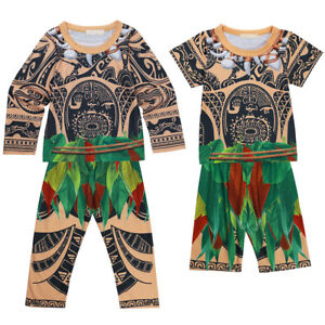 1f9632108 Fancy Maui Pajama+Pants Outfits Kids Baby Boys Sleepwear Pyjama ...