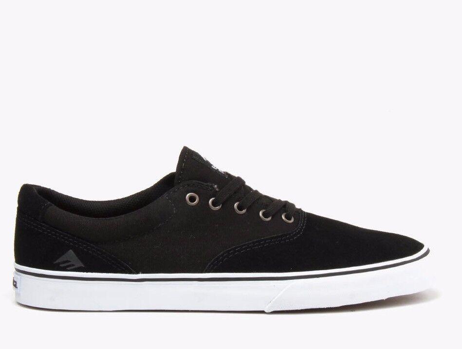 Emerica Provost Slim Vulc Skate Shoes MSRP$55 in Black White BNIB MSRP$55 Shoes f28a02