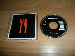 "RAMMSTEIN - MEIN TEIL  (VERY RARE GERMAN 3"" CD SINGLE)"