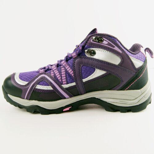 TrekSta Womens Leisure Time Dormite Mid Sports Trekking Shoes Hiking Boots US size8 Purple