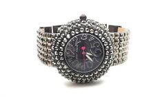 BETSEY JOHNSON CRYSTAL ENCRUSTED STUDDED WATCH $155 (#10186)