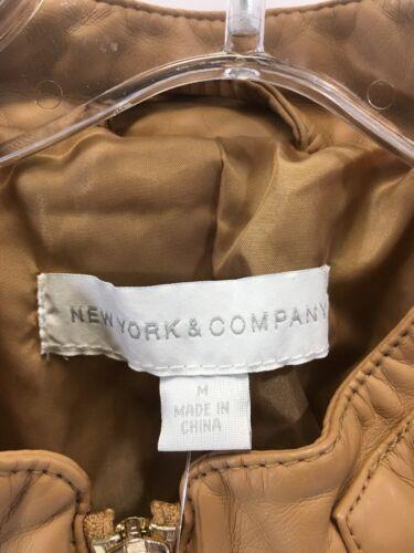 34064313 Nwt pelle da Medium moto donna sintetica in New Company Giacca York wFP7xqvTv