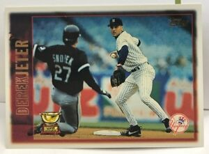 Details About Derek Jeter 1997 Topps All Star Rookie Cup Base Card 13 New York Ny Yankees
