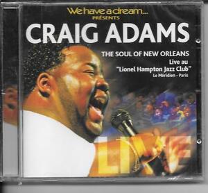 CD-ALBUM-8-TITRES-GRAIG-ADAMS-THE-SOUL-OF-NEW-ORLEANS-2007-NEUF