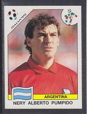 Panini - Italia 90 World Cup - # 115 Nery Pumpido - Argentina