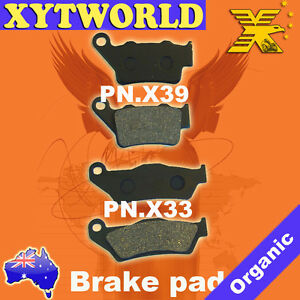 FRONT REAR Brake Pads for KTM SC 400 (Super competition LC4) 1996-1999