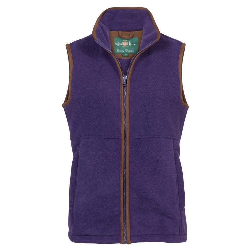 Ladies Alan Paine Aylsham Fleece Gilet - all sizes - new