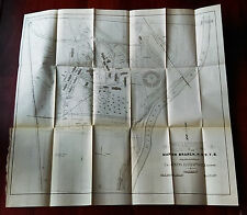 1897 Topographical Map of IND Marion Branch NHDVS Col Chapman Governor