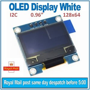 Details about OLED Display White 128X64 0 96