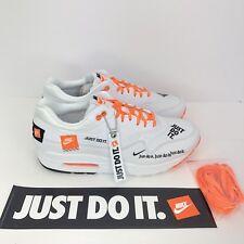 f19dd50b249 item 1 Women s Nike Air Max 1  Just Do It  917691-100 Size 11 White Orange  Black -Women s Nike Air Max 1  Just Do It  917691-100 Size 11 White Orange  Black