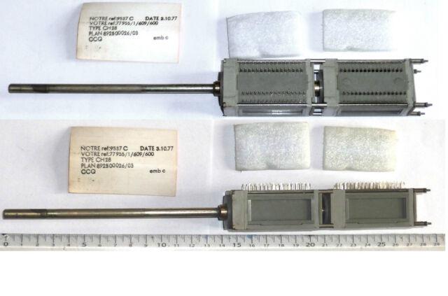 Double commutateurs rotatifs à 26 positions pour circuit imprimé