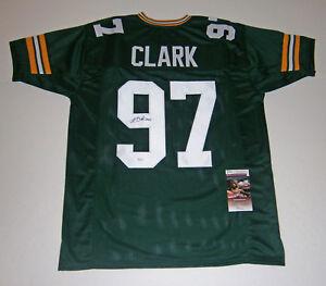 PACKERS-Kenny-Clark-signed-custom-green-jersey-w-97-JSA-COA-AUTO-Autographed