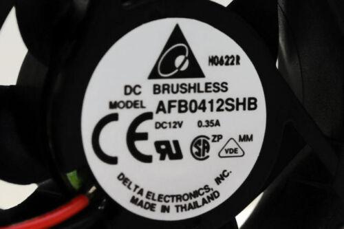 Delta DC 40 x 40 x 15mm 12V DC Fan AFB0412SHB Brushless Axial 2 Wire Fan
