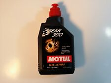 105777 Motul GEAR 300 75W90 100% Synthetic Gear Oil for all Mech Trans (1 Liter)