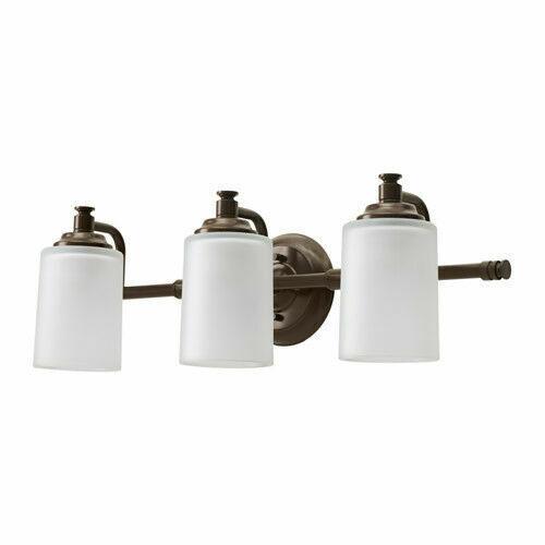 Ikea Vipparp Wall Lamp 3 Spots Bronze, Ikea Bathroom Wall Lights