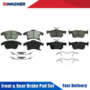 Details About Front Rear 8 Pcs Wagner Ceramic Disc Brake Pads Set For Ford Fusion 2017