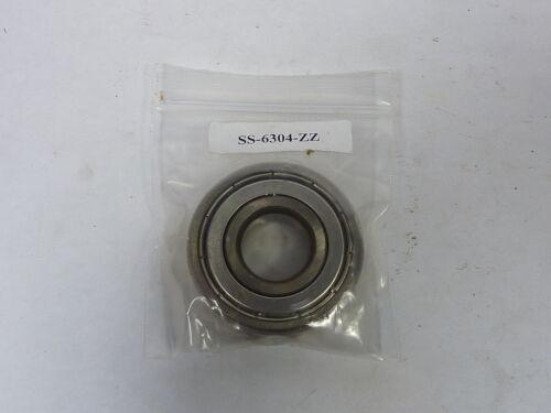 Generic SS-6304-ZZ Deep Groove Ball Bearing   NEW