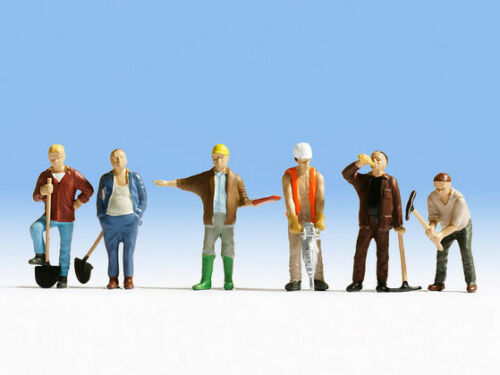 Figuren Bauarbeiter Noch 36110 NEU Spur N