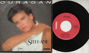 STEPHANIE-disco-45-giri-MADE-in-ITALY-1986-OURAGAN-stampa-ITALIANA