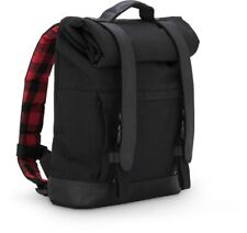 acae03be3a383 Hynes Eagle Stylish Roll Top Canvas Backpack Black for sale online ...