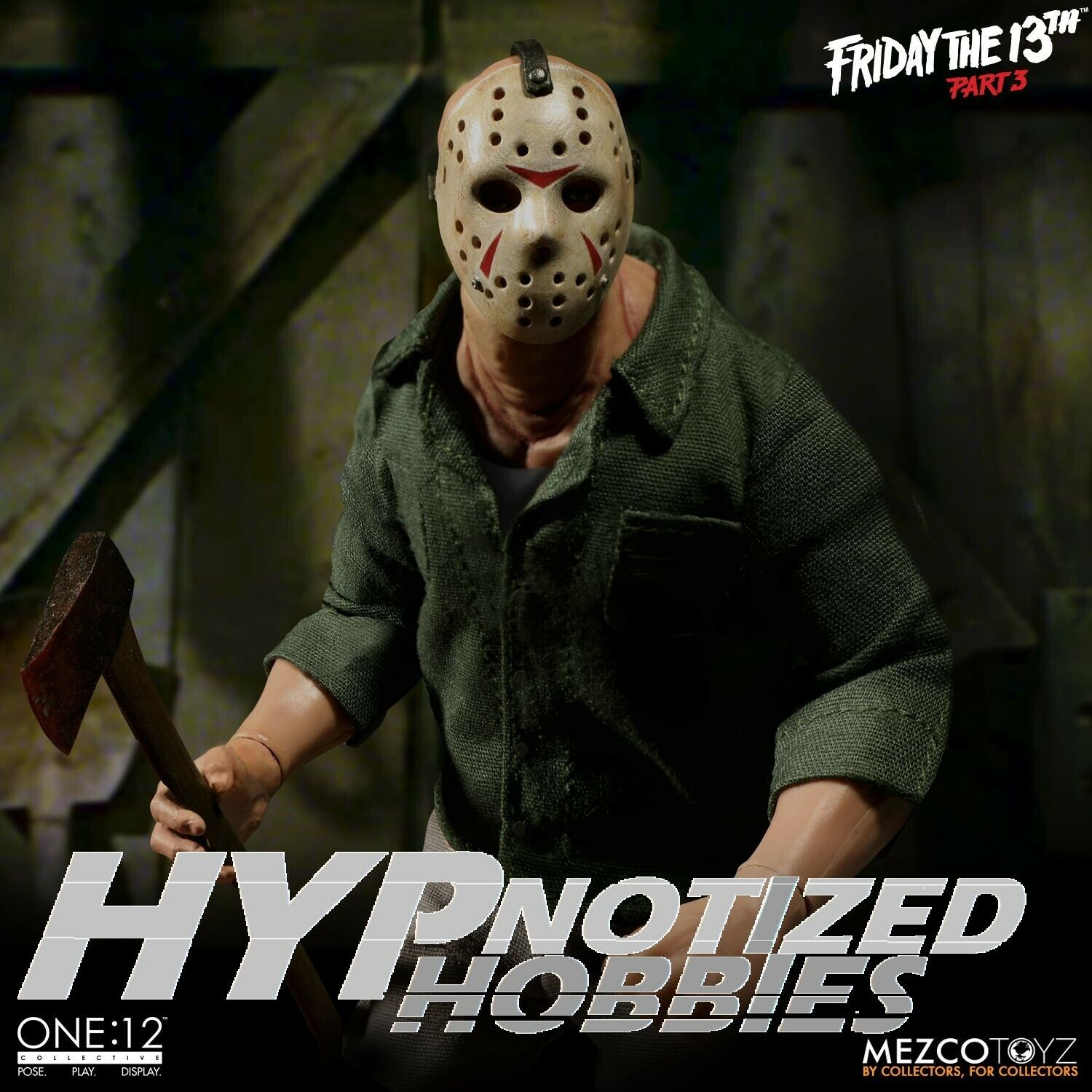 MEZCOTOYZ ONE 12 COLLECTIVE FRIDAY THE 13TH JASON VOORHEES FIGURE