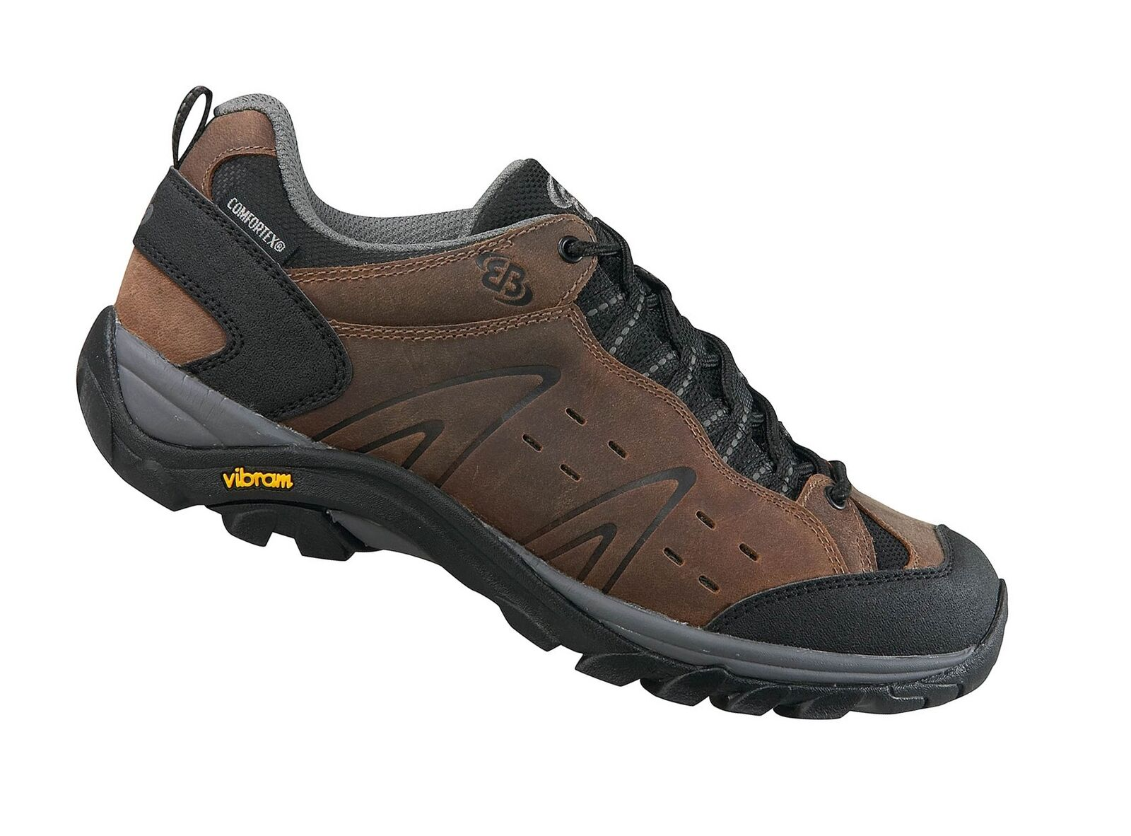 Brütting Mount Bona Low brown Unisex Trekkingschuh Wanderschuh Outdoor