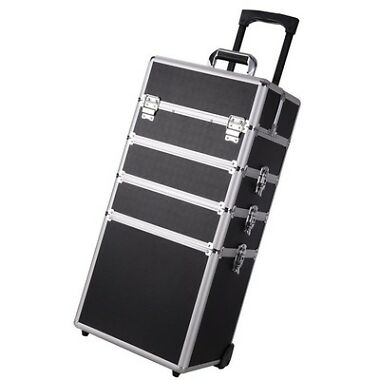 Aaccessories Pro 4in1 Aluminum Makeup Case Trolley