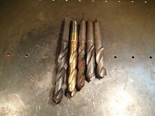 5 Pc Lot Morse Taper 3 Shank Drill Bits Mt3 3mt 1316 78 1516 6364 990