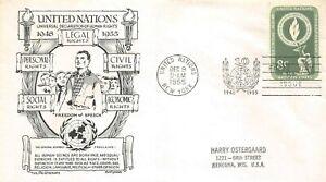 Set-of-2-Envelopes-1er-Day-Nations-1955
