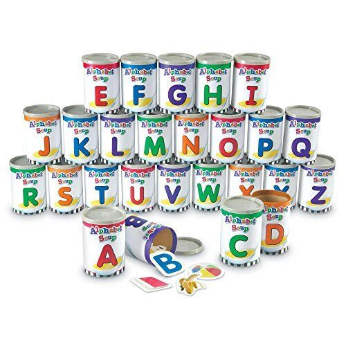 NEW Learning Resources Alphabet Soup Sorters 209 Pieces FREE SHIPPING