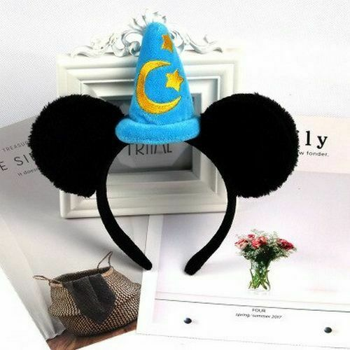 Mickey Minnie Cute Mickey Mouse Headband Pink Ear Headband Bow Hair Accessories