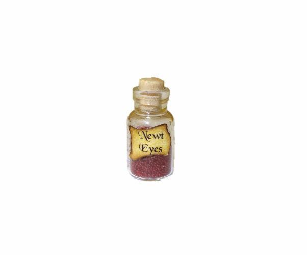 Dollhouse Newt Eyes Halloween Witches Brew Magic Potion Doll House Miniatures
